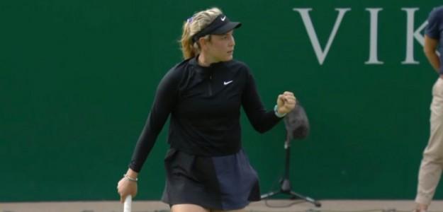 Donna Vekic, estrella inminente. Foto:donnavekic.com