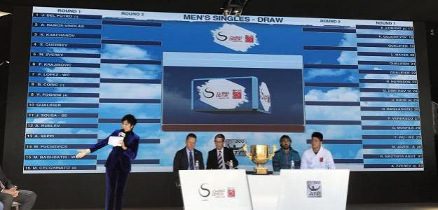 Sorteo del cuadro de Beijing. Fuente: China Open