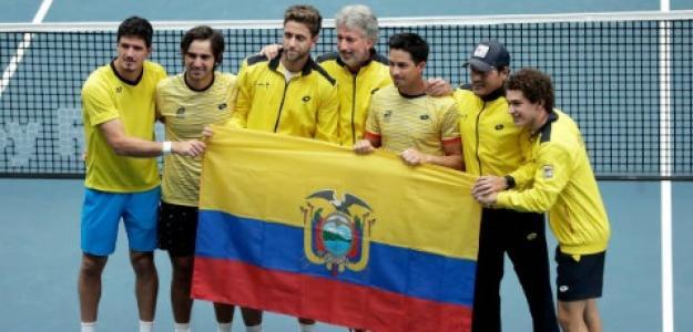 Ecuador en Copa Davis. Foto: Getty Images