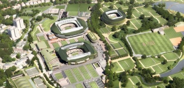 El proyecto para mejorar el tercer GS de la temporada. Foto: Wimbledon