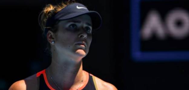 Elina Svitolina, eliminada. Fuente: Getty