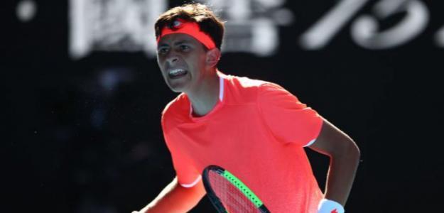 Emilio Nava en Open de Australia 2019 Junior. Foto: zimbio