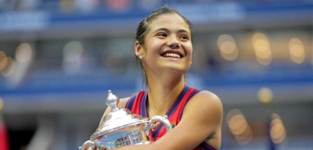 Raducanu se consagró campeona del US Open 2021. Foto: USTA