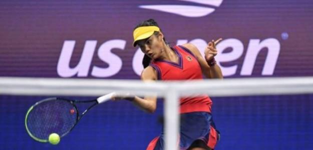 La británica durante su duelo de semifinales. Foto: Getty