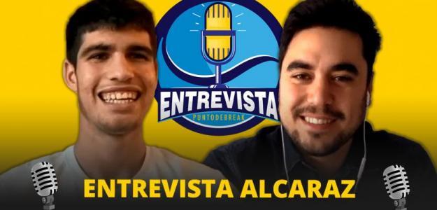 Entrevista con Carlos Alcaraz. Fuente: PDB