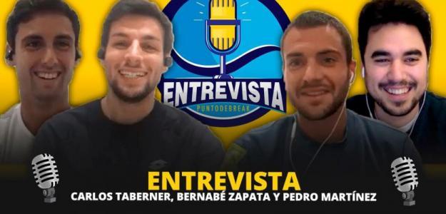 Fernando Murciego entrevista a Carlos Taberner, Bernabé Zapata y Pedro Martínez.