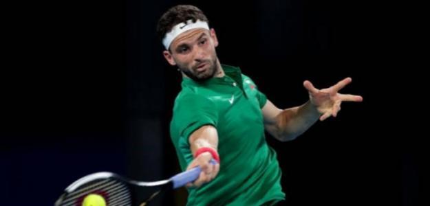 """Dimitrov: """"Lo que Djokovic ha hecho por este deporte es extraordinario"""". Foto: Getty"""