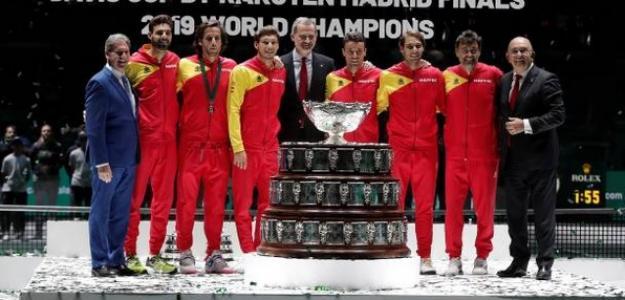 La grandeza de España en la historia de la Copa Davis. Foto: Getty