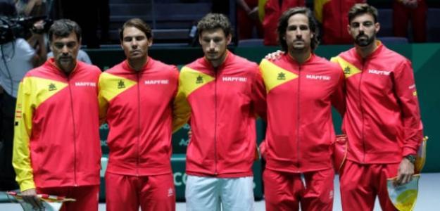 """Nadal: """"Quiero dedicar esta victoria a Roberto y su familia en nombre de todo el equipo"""". Foto: Getty"""