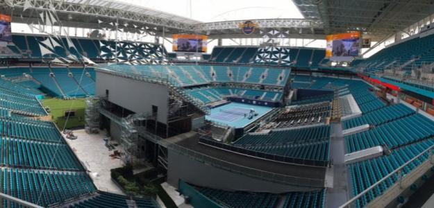 El nuevo estadio del Miami Open. Foto: NYT
