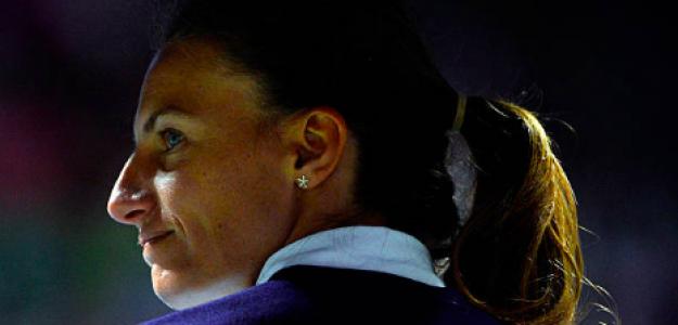 Eva Asderaki, una clásica entre las jueces de silla. Fuente. Getty