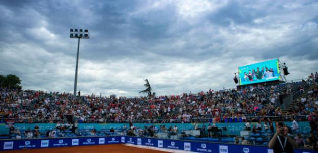 Estadio principal del Adria Tour Belgrado. Fuente: Getty