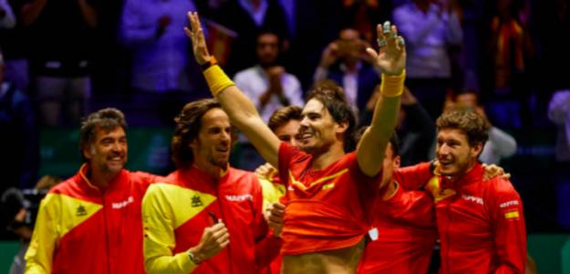 España, campeona de la última Copa Davis. Fuente: Getty