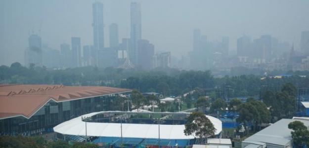Los expertos plantean una política de calidad del aire para el Open de Australia. Foto: AJplus