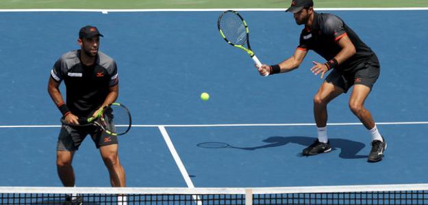 Cabal y Farah en el US Open. Foto: Zimbio