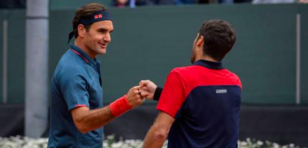Pablo Andújar derrotó a Roger Federer en Ginebra. Fuente: Getty