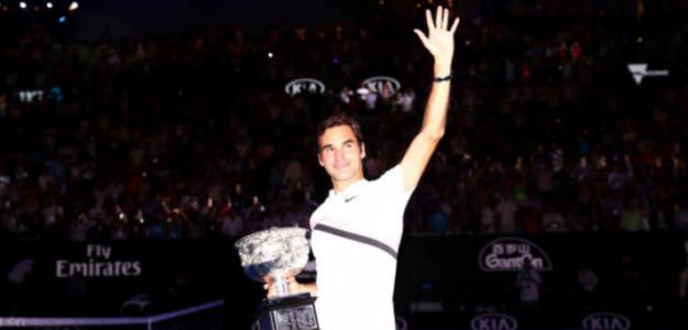 Roger Federer, uno de los grandes protagonistas del año 2018. Foto: Getty