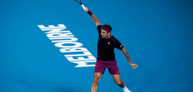 El abuelo Federer sigue de marcha en Australia. Foto: Getty