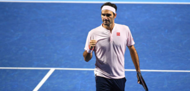 Federer se mete en semifinales de Basilea. Foto: Getty