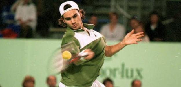 Roger Federer en el Challenger de Brest 1999. Fuente: Getty