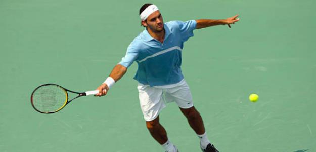 Roger Federer en Cincinnati 2003. Fuente: Getty