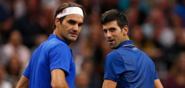 Roger Federer habla de Novak Djokovic. Foto: gettyimages