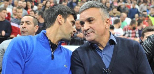 Srdjan, el papá de Djokovic, vuelve a atacar a Federer. Foto: Getty