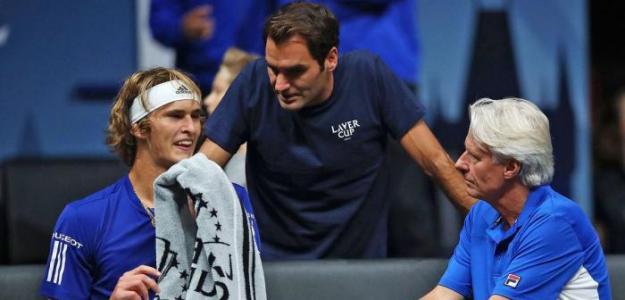 Roger Federer, destinado a ser entrenador. Foto: Getty