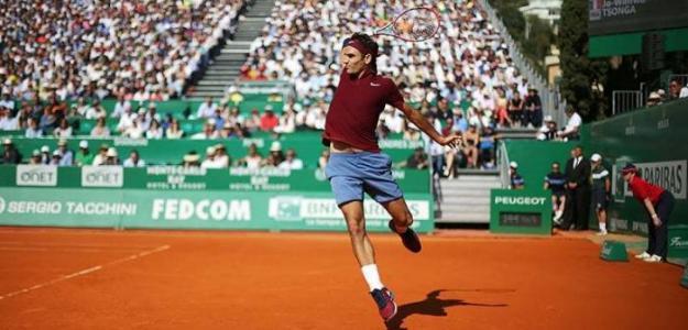 Roger Federer vuelve a la tierra batida. Foto: Getty