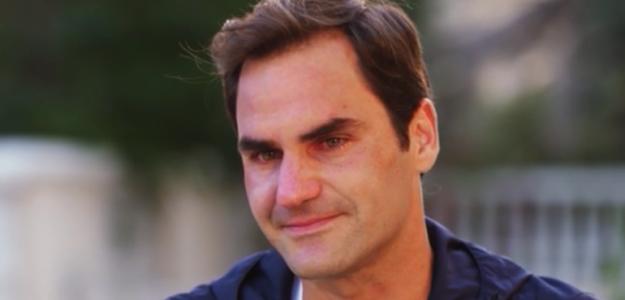 Roger Federer se emocionó al recordar a Peter Carter. Foto: CNN