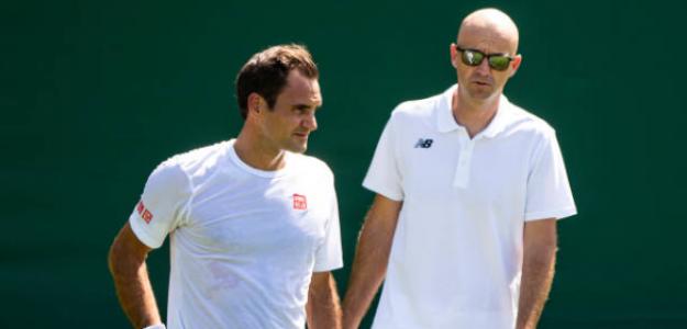"""Ljubicic: """"Roger es mi primera, segunda y tercera prioridad"""". Foto: Getty"""
