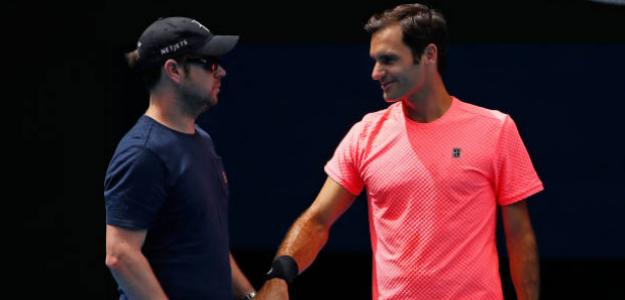 Luthi habla sobre Federer y Nadal. Foto: Getty