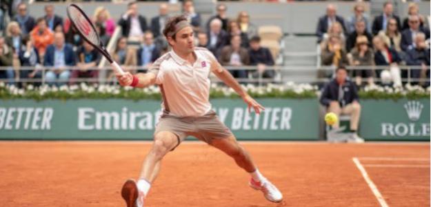 ¿Dónde situamos a Federer entre los mejores de la historia sobre tierra batida? Foto: Getty