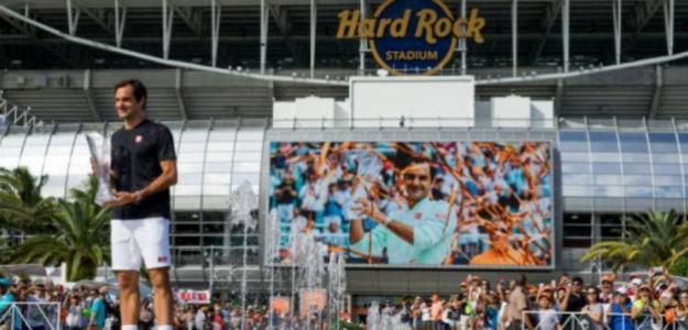 El motivo por el que Roger Federer se ha bajado del Miami Open. Foto: Getty