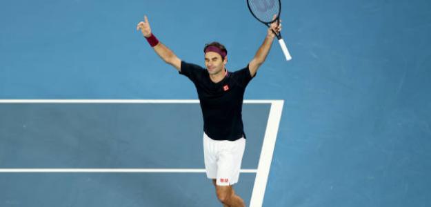 Federer sobrevive ante Millman en un final agónico. Foto: Getty