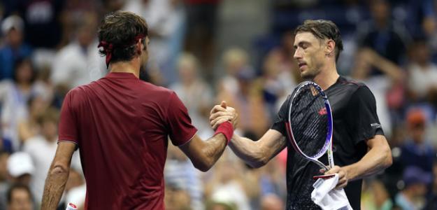 Roger Federer y John Millman, derrota sonada de 2018. Foto: zimbio