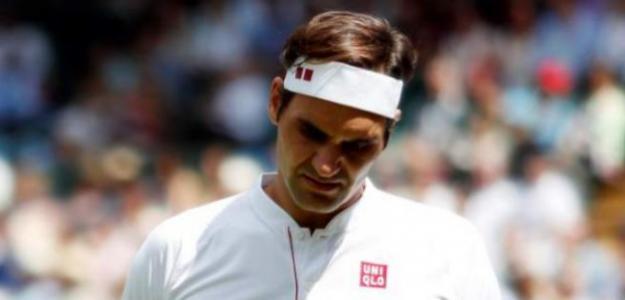 Roger Federer, momentos difíciles del Big 3 en Wimbledon. Foto: gettyimages