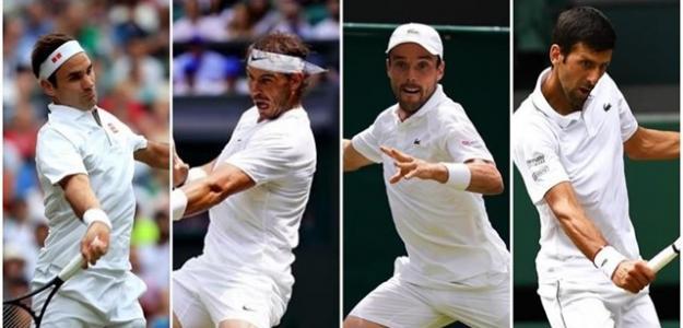 Análisis del Federer-Nadal y Djokovic-Bautista. Foto: EP
