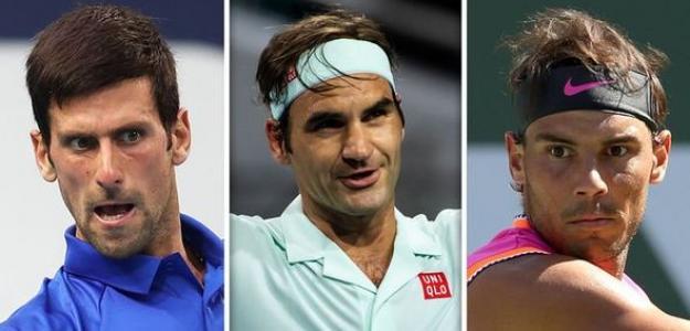 Los tenistas con más títulos de Grand Slam.