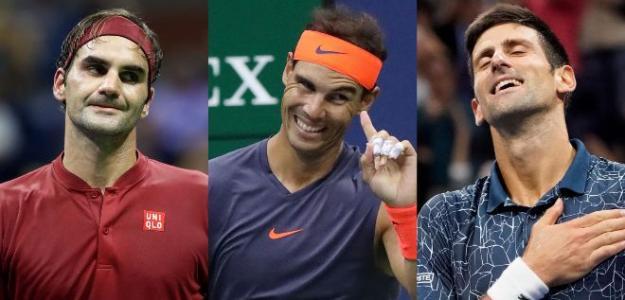 Los tenistas con más semanas como número 1 del Ranking ATP.