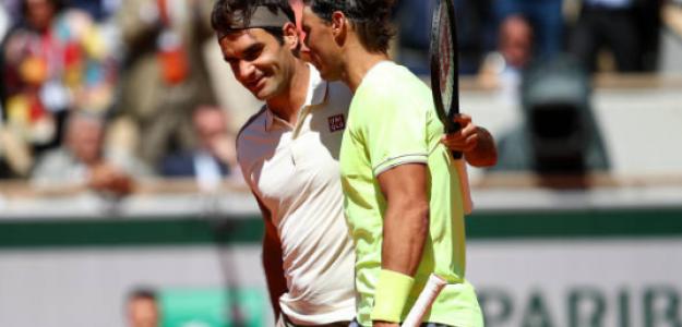 Roger Federer y Rafael Nadal, dónde no han jugado. Foto: gettyimages