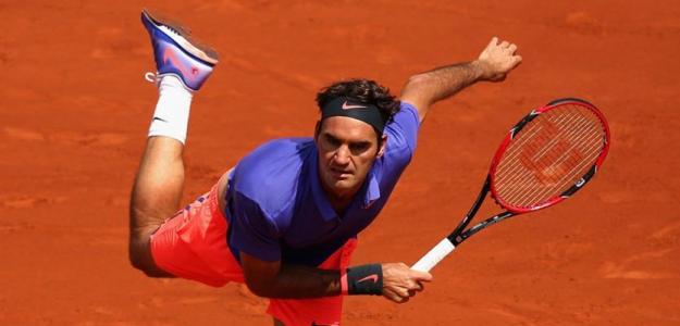 Roger Federer, jugador con más títulos en diferente superficie. Foto: gettyimages