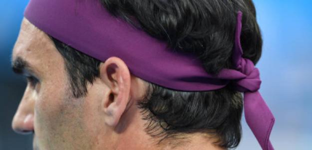 Roger Federer durante el Open de Australia 2021. Fuente: Getty