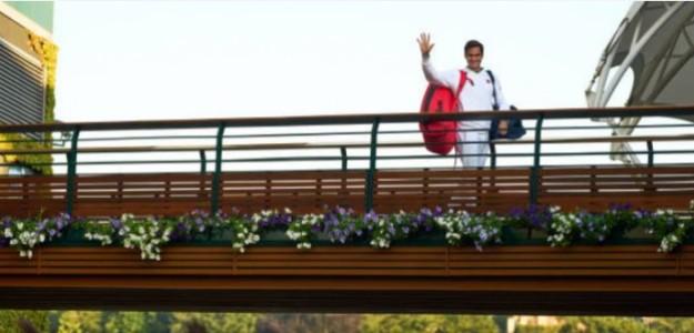 """Roger Federer, sobre su rodilla: """"Lo peor ya quedó atrás"""". Foto: Getty"""
