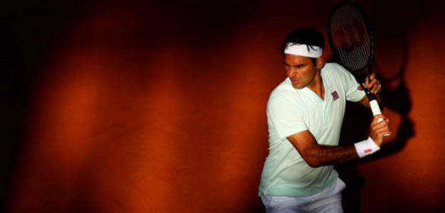Roger Federer en Roma. Foto: Getty