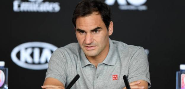 """Federer: """"No habría saltado a pista si creyera que no tenía oportunidad de ganar"""". Foto: Getty"""