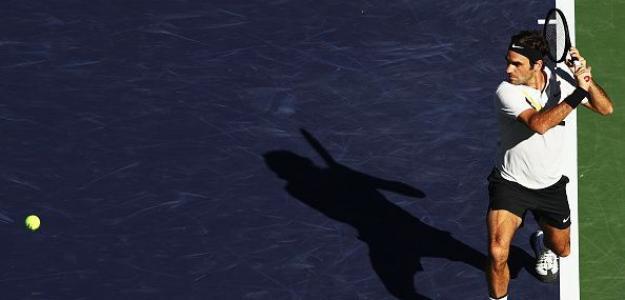 Federer y la razón de por qué tiró tanto de slice en 2018. Foto: Getty
