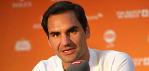 Federer, clave en la suspensión del tenis. Fuente: Getty