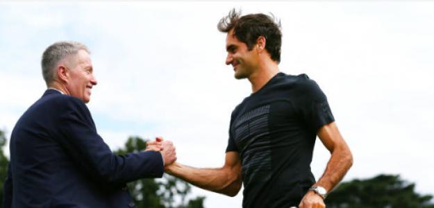 Roger Federer y Craig Tiley, en el top-5 de la lista. Fuente: Getty