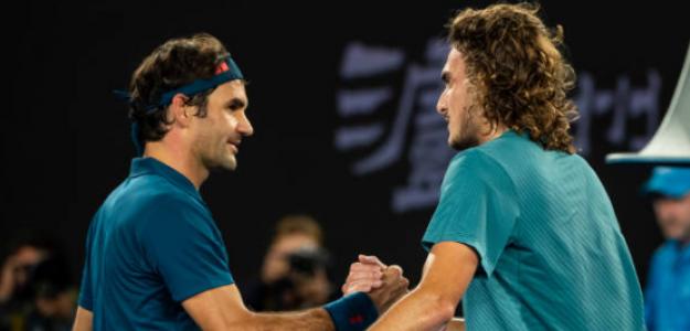 Tsitsipas refleja lo que sintió al ganar a Federer. Foto: Getty